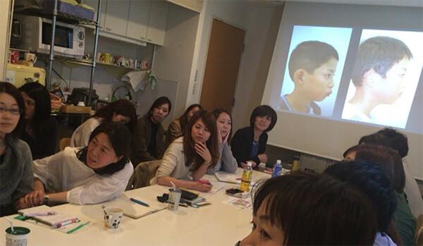 奈良からMRC矯正法の講師をお招きしプライベート研修