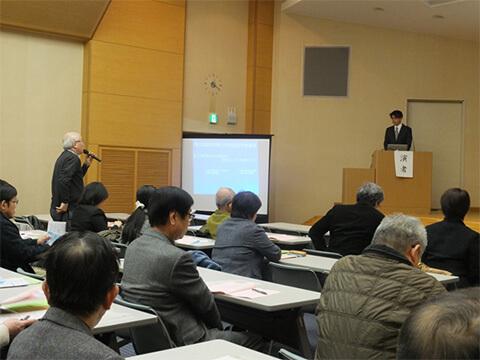 熊本県小児科医学術大会での講演の模様②