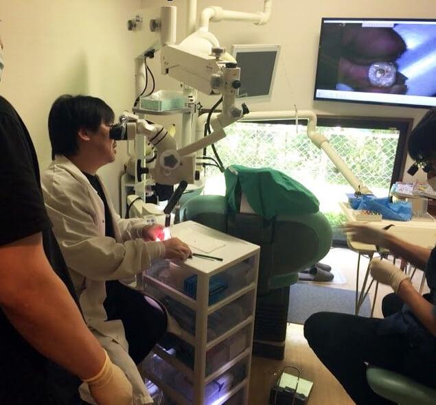 米国歯内療法専門医松浦顕先生によるプライベートコース
