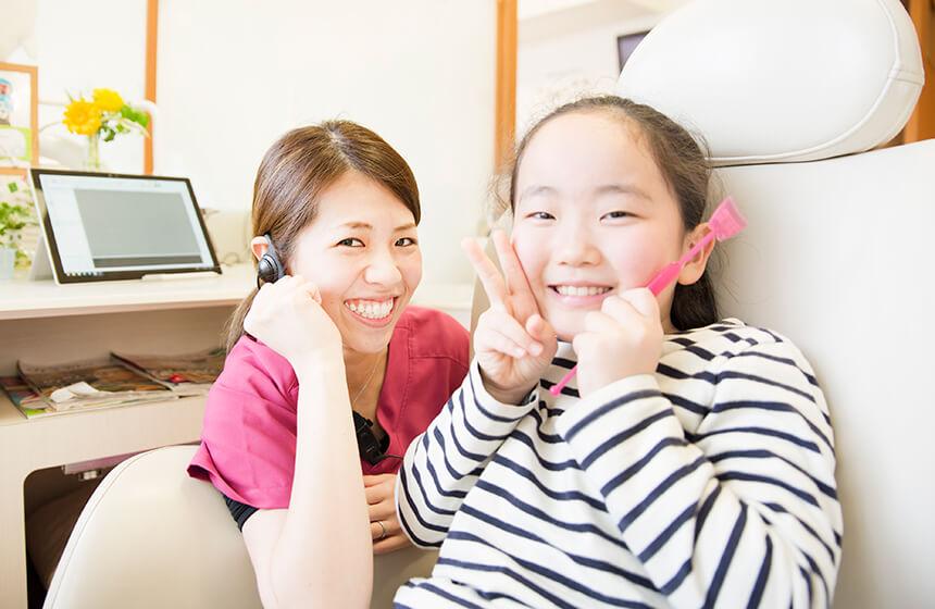 歯医者には「予防」のために通いましょう